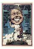 Jimmy Carter, Rolling Stone no. 214, June 1976 Photographic Print by Greg Scott