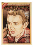 James Dean, Rolling Stone no. 163, June 1974 Photographic Print by John Van Hamersveld