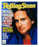 Michael Douglas, Rolling Stone no. 465, January 1986 Photographic Print by E.j. Camp