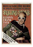 Elton John, Rolling Stone no. 223, October 1976 Photographic Print by David Nutter