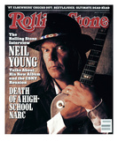 Neil Young , Rolling Stone no. 527, June 1988 Photographic Print by William Coupon