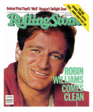 Robin Williams, Rolling Stone no. 378, September 1982 Photographic Print by Bonnie Schiffman