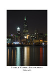 Chicago sears tower skyline Impressão fotográfica por Patrick  J. Warneka