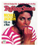 Michael Jackson, Rolling Stone no. 389, February 1983 Photographic Print by Bonnie Schiffman