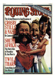Crosby, Stills and Nash, Rolling Stone no. 240, June 1977 Photographic Print by Robert Grossman