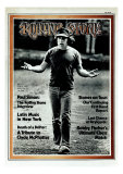 Paul Simon, Rolling Stone no. 113, July 1972 Photographic Print by Peter Simon
