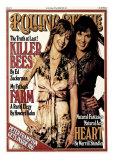 Ann and Nancy Wilson, Rolling Stone no. 244, July 1977 Photographic Print by Eric Meola