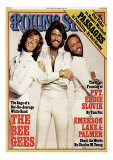 Bee Gees, Rolling Stone no. 243, July 1977 Photographic Print by Francesco Scavullo