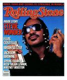 Stevie Wonder, Rolling Stone no. 471, April 1986