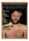 Eric Clapton, Rolling Stone no. 165, July 1974 Photographic Print by Philip Hays