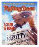E.T., Rolling Stone no. 374, July 1982 Photographic Print by Aaron Rapoport