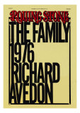 Richard Avedon's The Family, Rolling Stone no. 224, October 1976 Photographic Print by Elizabeth Paul
