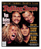 Van Halen, Rolling Stone no. 530/531, July 1988 Photographic Print by Timothy White