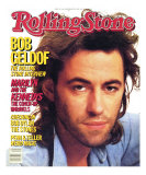 Bob Geldof, Rolling Stone no. 462, December 1985 Photographic Print by Davies & Starr