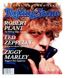 Robert Plant, Rolling Stone no. 522, March 1988 Photographic Print by David Montgomery