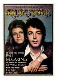 Paul and Linda McCartney, Rolling Stone no. 153, February 1974 Photographic Print by Francesco Scavullo