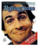 James Taylor, Rolling Stone no. 345, June 1981 Photographic Print by Aaron Rapoport