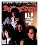 REM, Rolling Stone no. 514, December 1987 Photographic Print by Brian Smale