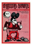 Zap Comix Mouse, Rolling Stone no. 17, September 1968 Photographic Print by Rick Griffin