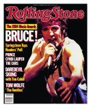 Bruce Springsteen, Rolling Stone no. 442, February 1985 Photographic Print by Neal Preston