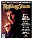 George Harrison, Rolling Stone no. 511, October 1987 Photographic Print by William Coupon