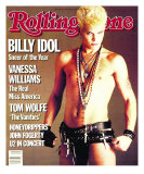 Billy Idol, Rolling Stone no. 440, January 1985 Photographic Print by E.j. Camp
