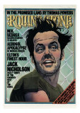 Jack Nicholson, Rolling Stone no. 201, December 1975 Photographic Print by Kim Whitesides