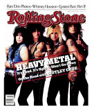 Motley Crue, Rolling Stone no. 506, August 1987 Photographic Print by E.j. Camp