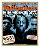 Hip Hop Now, Rolling Stone no. 798, October 1998 Photographic Print by Matt Mahurin