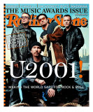 U2, Rolling Stone no. 860, January 2001 Photographic Print by Mark Seliger