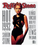Sharon Stone, Rolling Stone no. 630, May 1992 Photographic Print by Albert Watson