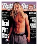 Brad Pitt, Rolling Stone no. 696, December 1994 Photographic Print by Mark Seliger