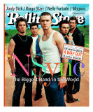'N Sync, Rolling Stone no. 875, August 2001 Photographic Print by Mark Seliger
