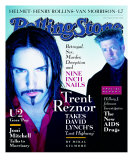 Trent Reznor and David Lynch, Rolling Stone no. 755, March 1997 Photographic Print by Dan Winters