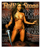 Jennifer Lopez, Rolling Stone no. 862, February 2001 Photographic Print by Mark Seliger