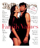 Liv and Steven Tyler, Rolling Stone no. 694, November 1994 Photographic Print by Albert Watson