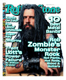 Rob Zombie, Rolling Stone no. 805, February 1999 Photographic Print by Mark Seliger