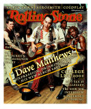 Dave Matthews Band, Rolling Stone no. 864, March 2001 Photographic Print by Mark Seliger
