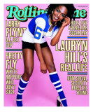 Lauryn Hill, Rolling Stone no. 806, February 1999 Photographic Print by Mark Seliger