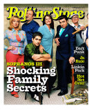 Cast of The Sopranos, Rolling Stone no. 865, March 2001 Photographic Print by Mark Seliger