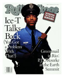 Ice-T, Rolling Stone no. 637, August 1992 Photographic Print by Mark Seliger