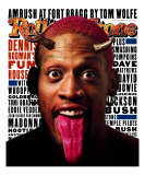 Dennis Rodman, Rolling Stone no. 749, December 1996 Photographic Print by Albert Watson