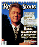 Bill Clinton, Rolling Stone no. 639, September 1992 Photographic Print by Mark Seliger