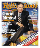 Jon Stewart, Rolling Stone no. 960, October 2004 Photographic Print by Michael O&#39;neill