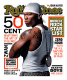 50 Cent, Rolling Stone no. 919, April 2003 Photographic Print by Albert Watson