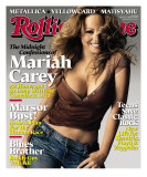 Mariah Carey, Rolling Stone no. 994, February 2006 Photographic Print by Brigette Lacombe