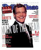 David Letterman, Rolling Stone no. 698/699, December 1994 Photographic Print by Frank Ockenfels