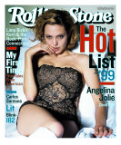Angelina Jolie, Rolling Stone no. 819, August 1999 Photographic Print by Mark Seliger