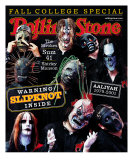 Slipknot, Rolling Stone no. 879, October 2001 Photographic Print by Martin Schoeller