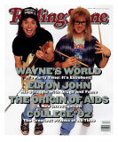 Mike Myers and Dana Carvey, Rolling Stone no. 626, March 1992 Photographic Print by Bonnie Schiffman